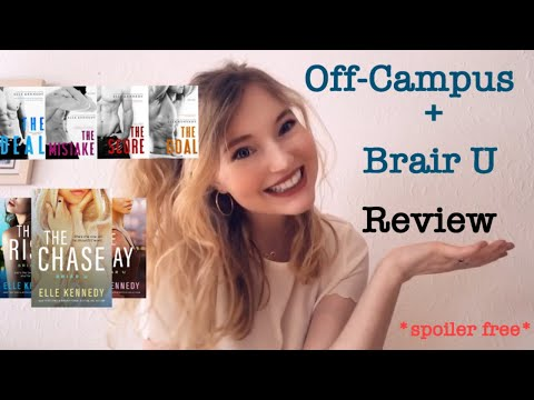Off-Campus And Brair U Series Review *spoiler Free* |Charlotte Blickle