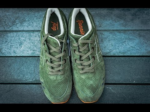 MOSSAD MILITIA INITIATIVE GEL LYTE III, RONNIE FIEGS SAMPLE ASICS FINALLY RELEASED