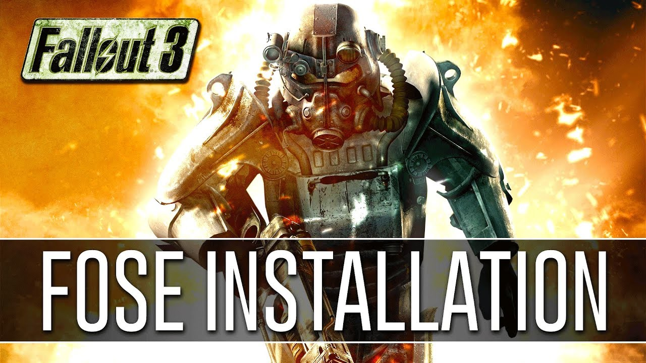Download How to Install FOSE for Fallout 3 (2018) - Script Extender v1.3 b2
