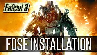 How to Install FOSE for Fallout 3 (2018) - Script Extender v1.3 b2
