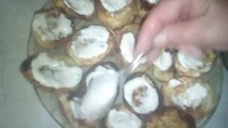 Жареные кабачки с домашним майонезом