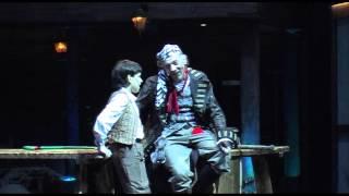 """Мюзикл """"Остров сокровищ"""" - """"Песня о кораблях"""". Исп.: Саша Савинов, Эдуард Аблам (живой звук)"""