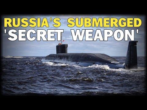 RUSS|A'S SUBMERGED 'SECRET WEAP0N' CONTROLS SYR|AN COASTLINE