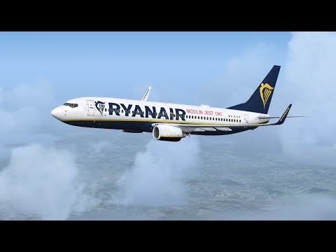 Malaga to Barcelona & Palma De Mallorca | FSX Steam - PMDG 737-800 Virtual Ryanair