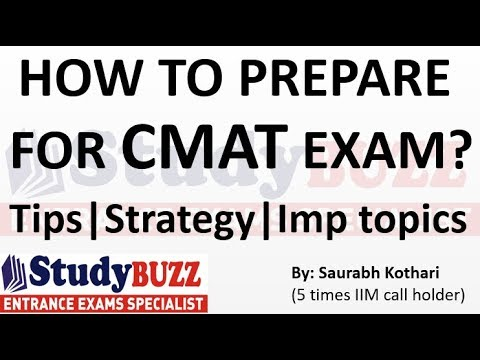 How To Prepare For CMAT Exam? Most Important Topics & Strategies!