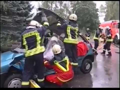 Vehicle extrication process - technical rescue operation | firefighting