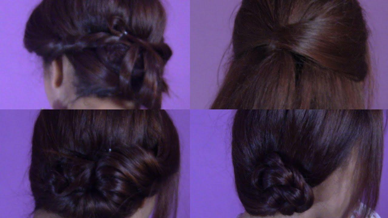 Peinados faciles para una cita trabajo youtube - Peinados para hacerse una misma ...