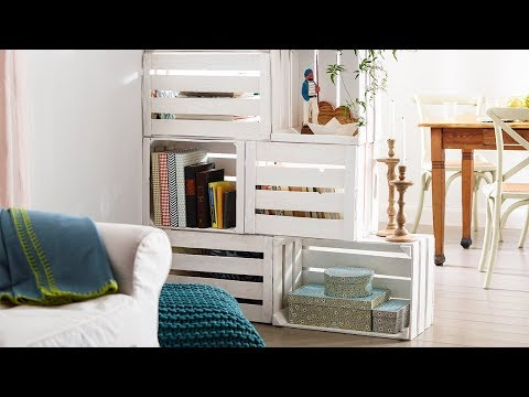 drehbarer fernseher aus dem raumteiler german doovi. Black Bedroom Furniture Sets. Home Design Ideas