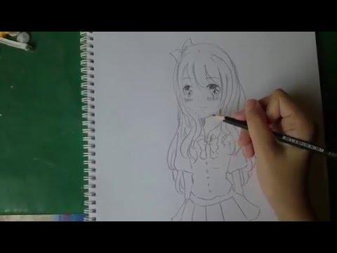 Meme Anime สอนวาดรูปการ์ตูน น่ารักๆ ง่ายๆ เบื้องต้น