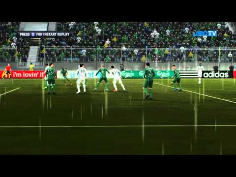 Zambia vs. Nigeria | Road To World Cup Japan 2012 | FIFA 12