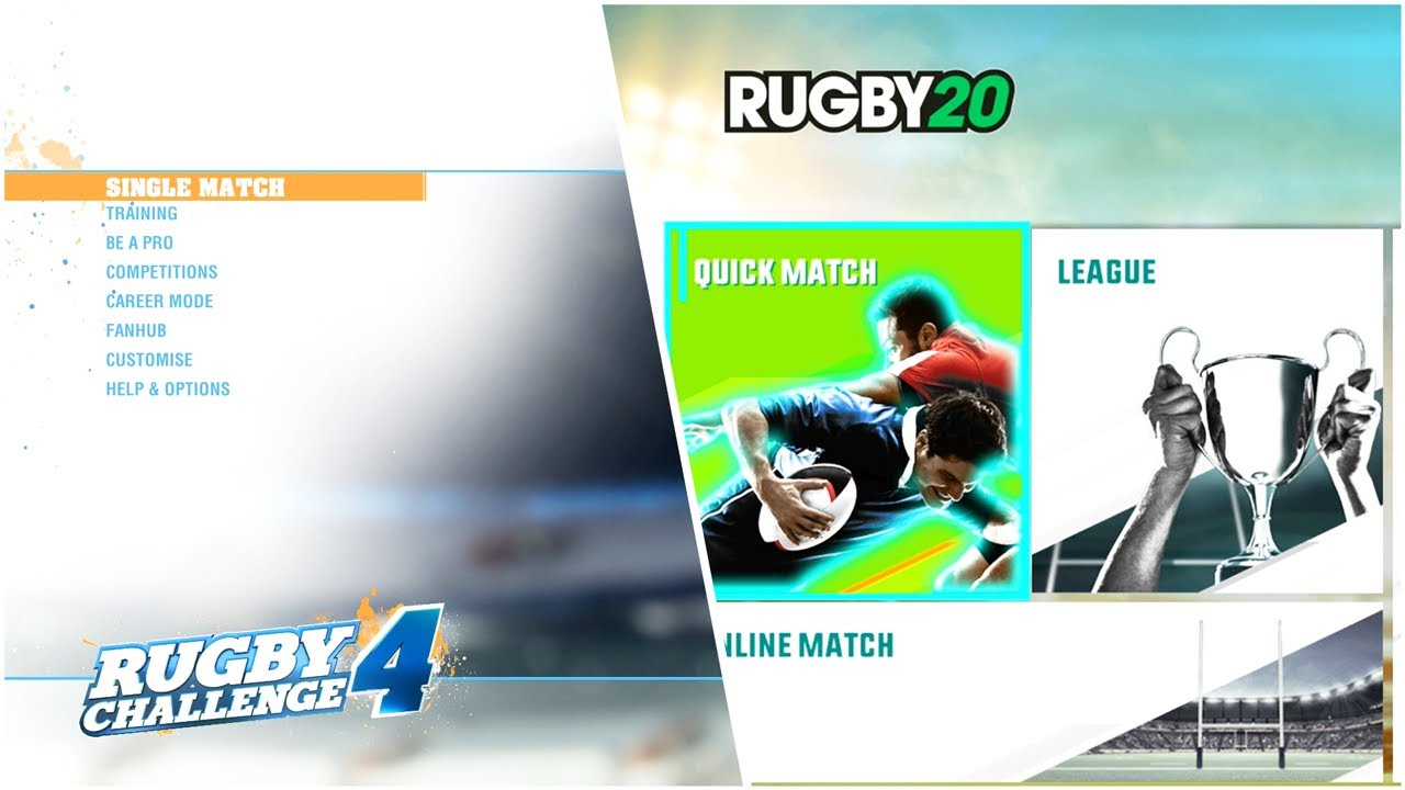 Rugby Challenge 4 Vs Rugby 20: What Are The Main Differences Between Both Rugby Games?