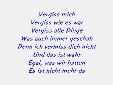 Luttenberger-Klug - Vergiss mich