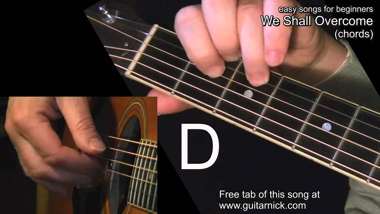 We shall overcome chords guitar lesson tab by guitarnick we shall overcome chords guitar lesson tab by guitarnick youtube hexwebz Image collections