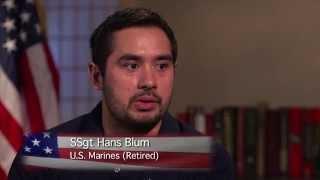 Marine Staff Sergeant Hans Blum