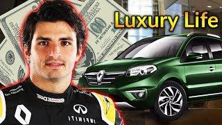 Carlos Sainz Jr Luxury Lifestyle | Bio, Family, Net worth, Earning, House, Cars