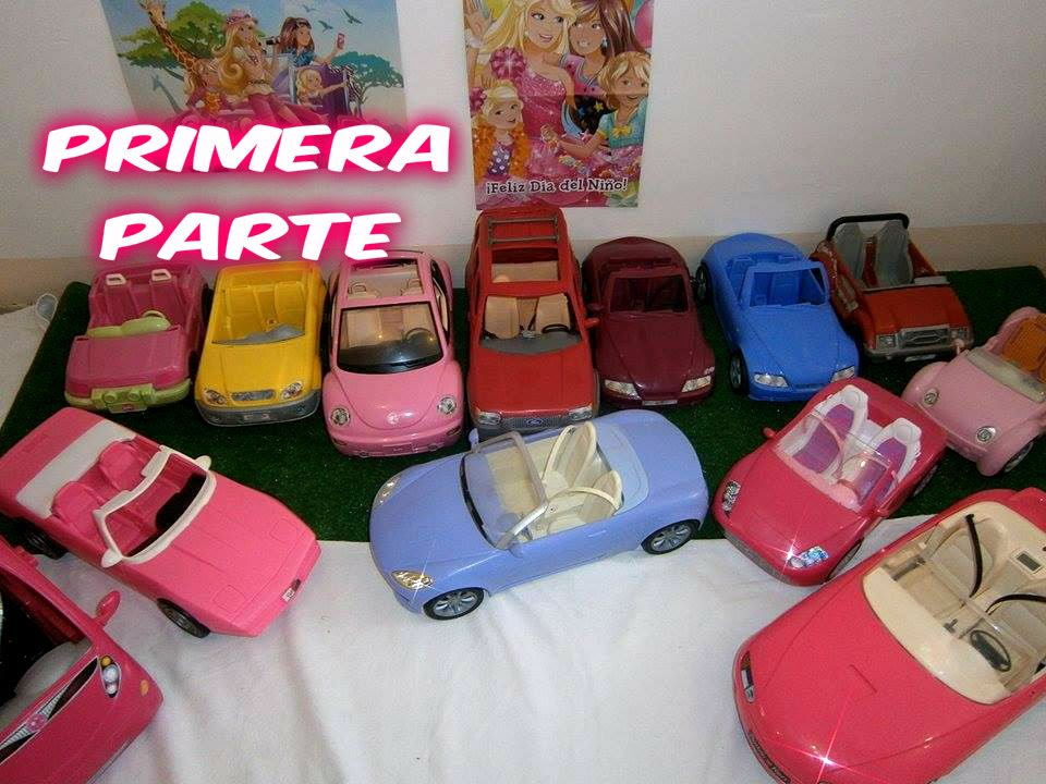 Barbie Mi De Parte Part CollectionCars My Colección 1era Autos 1st W9E2IHD