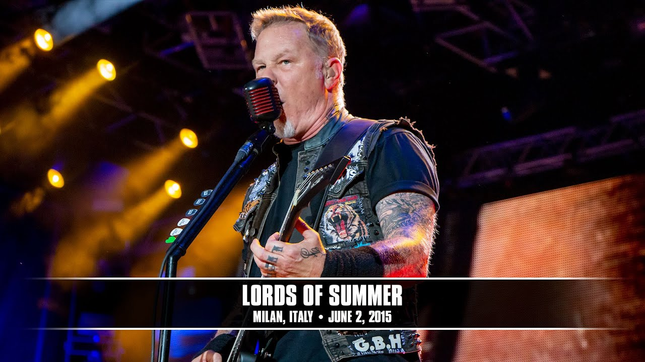Metallica: Lords Of Summer (MetOnTour — Milan, Italy — Sonisphere — 2015)