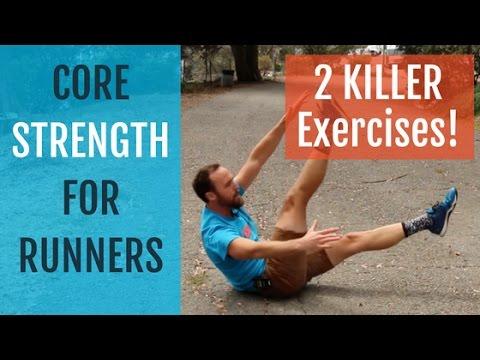 core strength training for runners  2 killer exercises