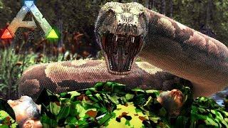 Download Video Fomos Caçados Pela TITANOBOA, Foi Uma ARMADILHA! - ARK Survival Evolved | Dinossauros (#21) (PT-BR) MP3 3GP MP4
