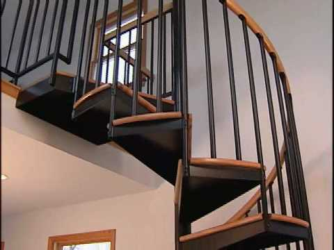 Salter Spiral Stair Gives You Extra Details And Features Without The Extra Cost Youtube