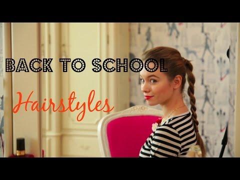 ♡ Оригинальные прически в школу ♡