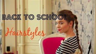 как сделать школьные прически