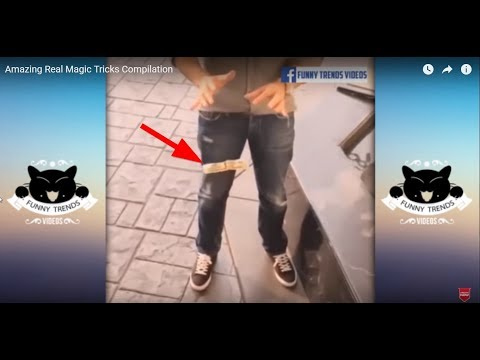 Amazing Real Magic Tricks Compilation