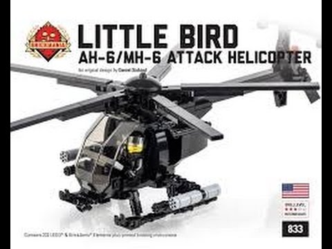 Blue Bird Names >> Brickmania Little Bird AH-6/MH-6 Attack Helicopter Speed ...