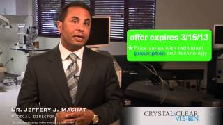 Low Cost Lasik by Dr. Jeff Machat of Crystal Clear Vision