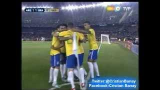 Argentina 1 Brasil 1 (Relato Sebastian Vignolo)  Eliminatorias a Rusia 2018