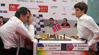 BILBAO FINAL ROUND - Magnus Carlsen vs Vassily Ivanchuk