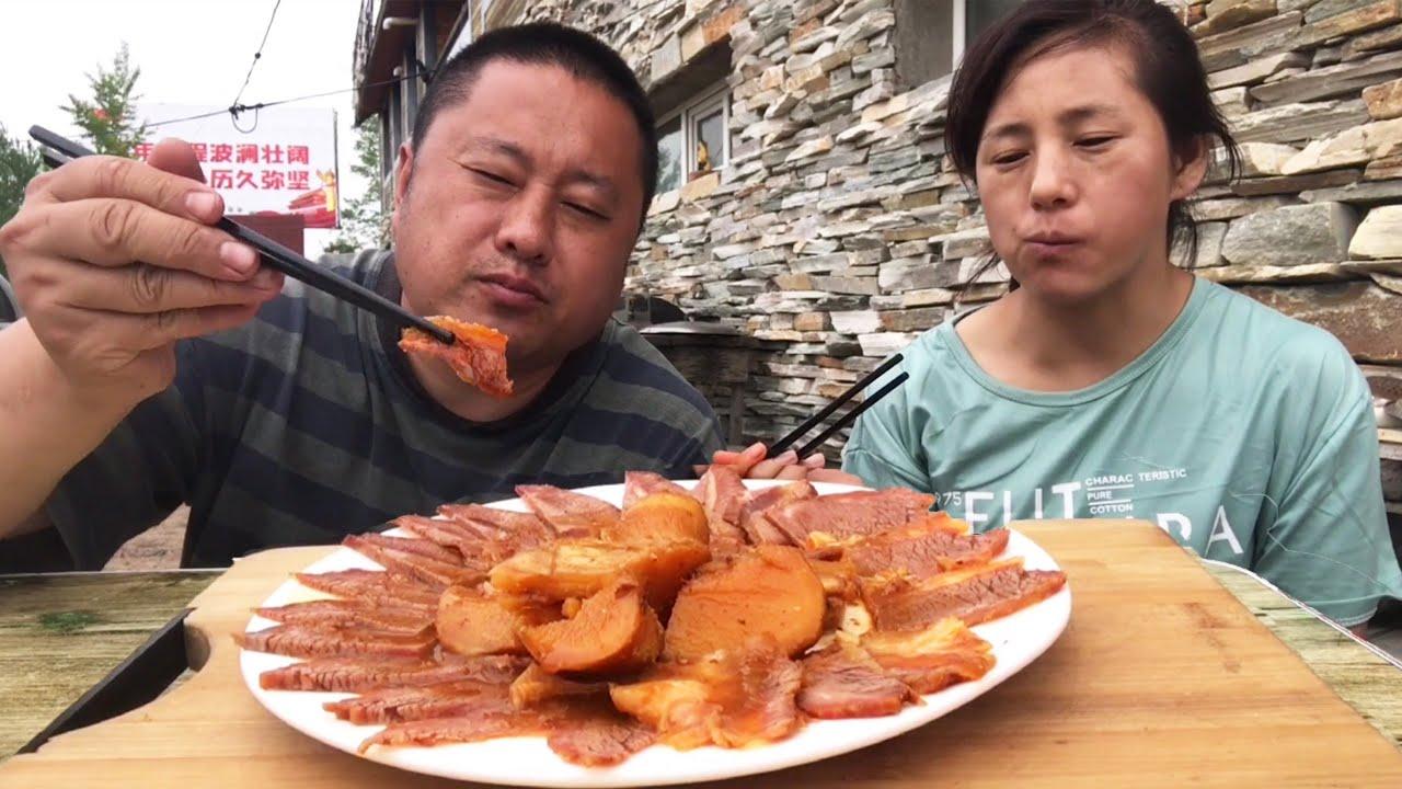1700塊錢做一鍋醬牛肉,軟爛入味,醬香濃郁,方法簡單大家都能做【農村大哥寒冰】