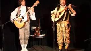 Николай Латышев.Юрий Коробейников. концерт в театре Елены Камбуровой.