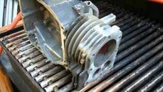 aluminum brazing repair part 9