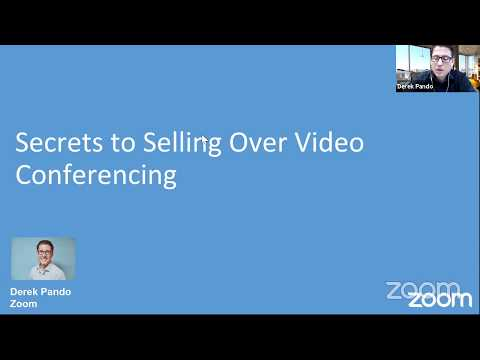 Secrets to Selling Over Video Conferencing