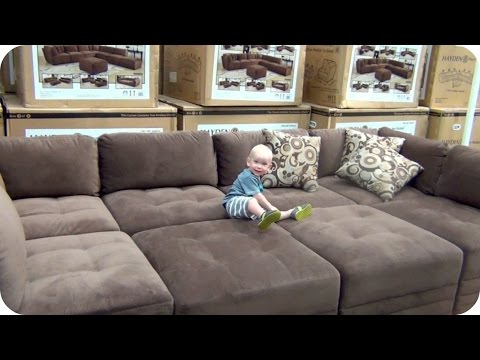 Costco Sized Couch WITL 72 | theBubblelush - YouTube