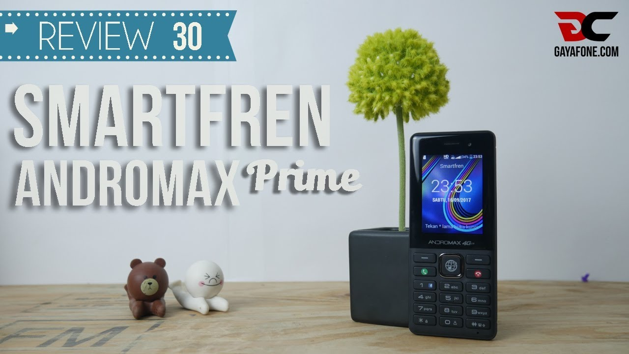 REVIEW SMARTFREN ANDROMAX PRIME, Ponsel Kenangan Jaman Now!!