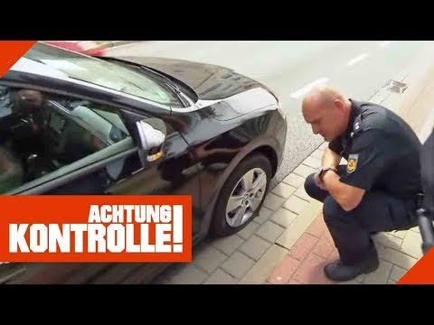 Fahrerflucht? Polizei rekonstruiert Unfall!   Achtung Kontrolle   Kabel Eins