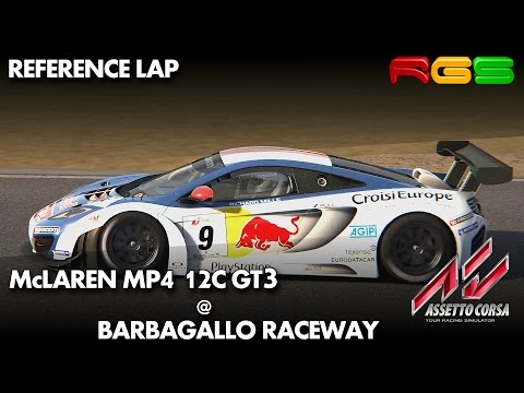 Assetto Corsa | McLaren MP4 12C GT3 | Barbagallo Raceway | Quality Mods
