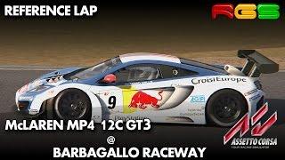 Assetto Corsa | McLaren MP4 12C GT3 | Barbagallo Raceway | Quality Mods