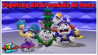 What Happens When You Fight All Broodals At The Same Time?! - Super Mario Odyssey Master Mode