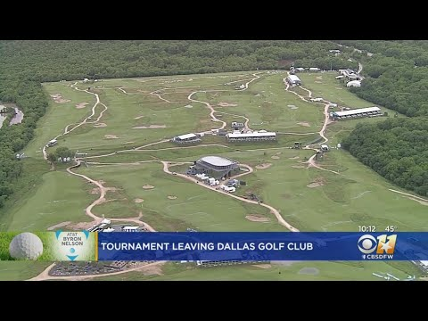 Jeff K - PGA Says Bye Bye To The Byron Nelson At Trinity Forest
