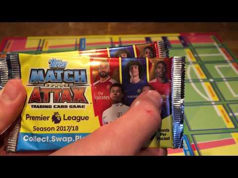 Match Attax 2017/18 2 Pack Opening-100 CLUB!!! OMG!!!