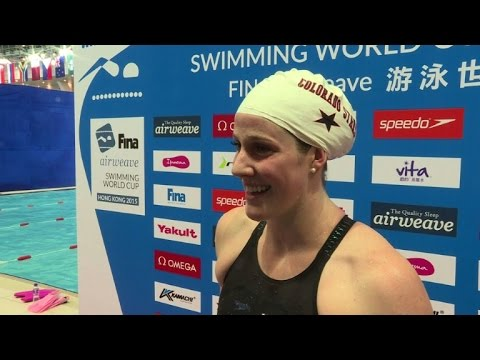 Olympian Missy Franklin wary of Chinese threat