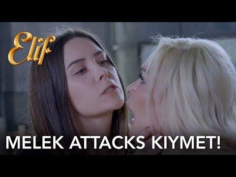 Elif 924. Bölüm | Melek Kıymet'e saldırdı! (English and Spanish)