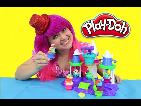Play-Doh Ice Cream Castle | TOY REVIEW | KiMMi THE CLOWN