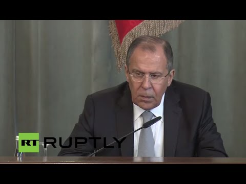 LIVE: Lavrov gives press conference following Gulf Cooperation Council meeting in Moscow