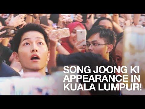 SONG JOONG KI, SO JI SUB & HWANG JUNG MIN at PAVILION, KL