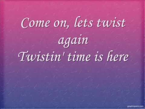 Chubby Checkers- Let's Twist Again/ With Lyrics