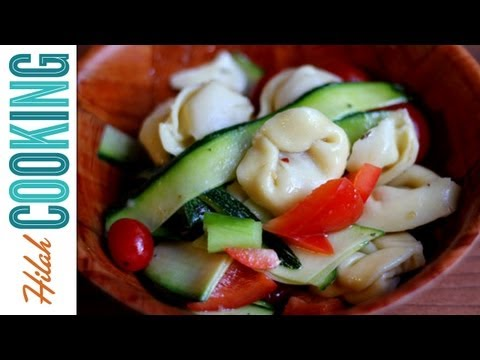 how-to-make-light-pasta-salad-hilah-cooking-ep-36